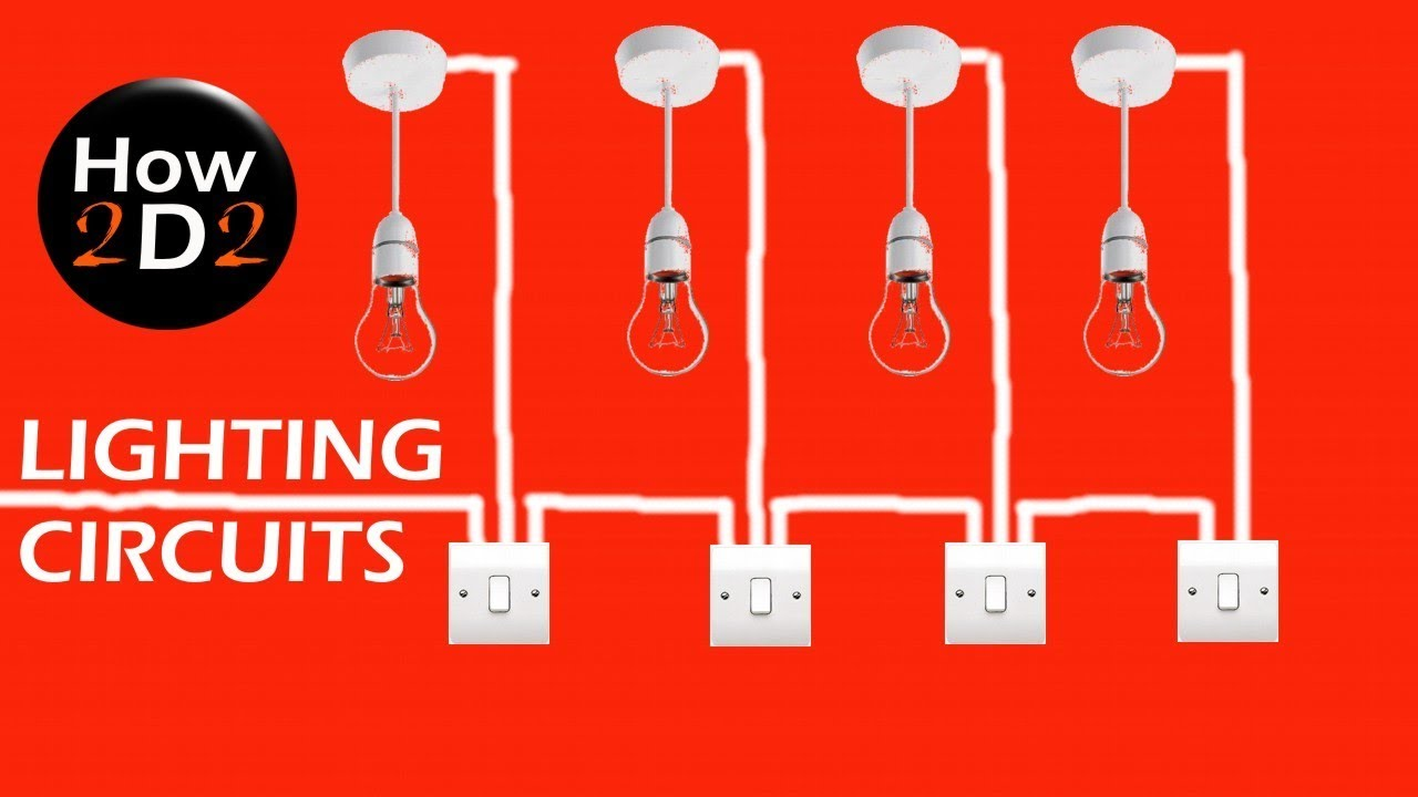 Lighting Circuits Switch wiring Wiring at the switch - YouTube