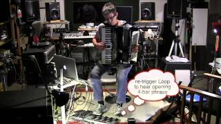 ELEGY #2 - Cathie Travers / accordion, Ableton Live, FC300, 12-Step