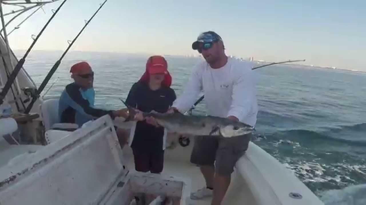 Fishing On Bolo Catching Kingfish Deerfield Beach