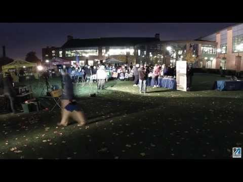 Fox 25 College Tour stops at UMass Lowell (time lapse)