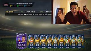 100k packs omg i dont believe it!!! fifa 15