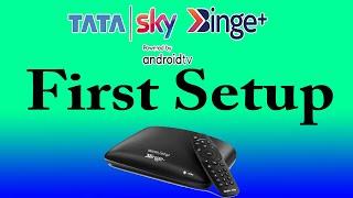 Tata Sky Binge Plus First Time Setup | Tata Sky Binge