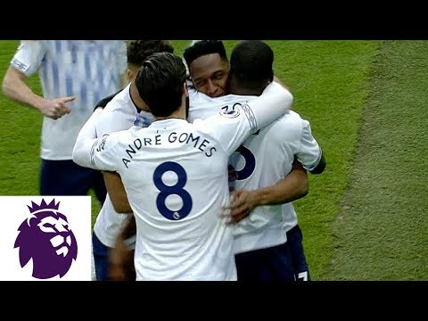 Yerry Mina scores header to make it 1-0 against Burnley | Premier League | NBC Sports