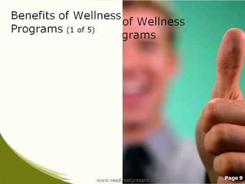 Wellness Program PowerPoint Presentation