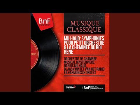 Symphonie de chambre No. 5 pour dix instruments à vent, Op. 75: III. Violent