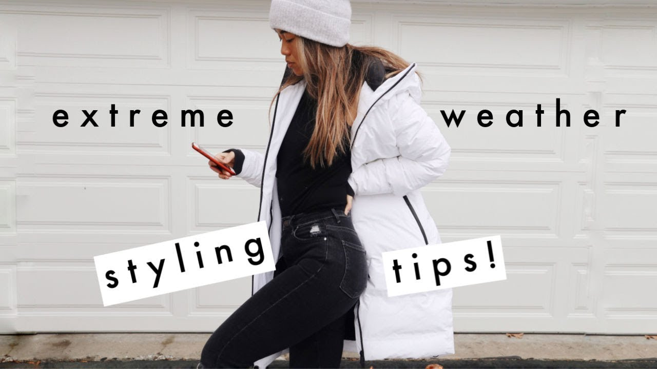 HOW TO STAY WARM & CUTE THIS WINTER | Style Tips 1
