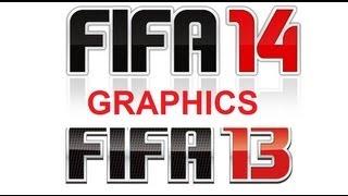 FIFA 14 vs FIFA 13 Graphics Comparision