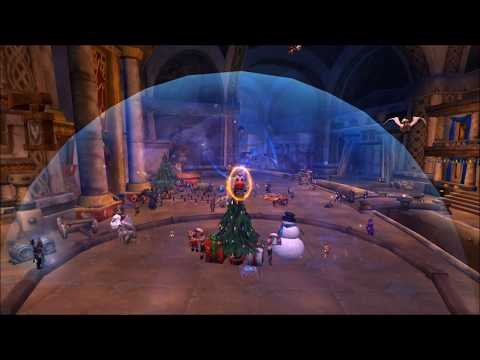 Fly OUTSIDE The Snow Globe In Cities! Winter Veil Exploit, Legion Glitch7.32