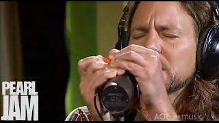 Hard To Imagine - AOL Sessions - Pearl Jam YouTube Videos