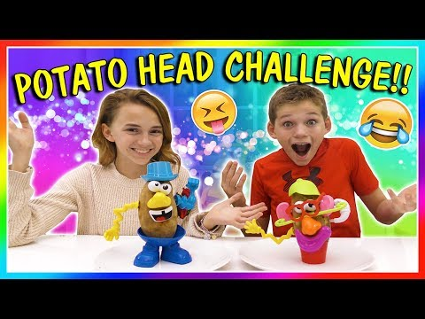 POTATO HEAD ART CHALLENGE | We Are The Davises
