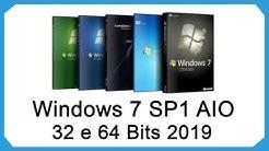 Como Baixar Windows 7 SP1 AIO 32 e 64 Bits PT-BR 2019 via TORRENT
