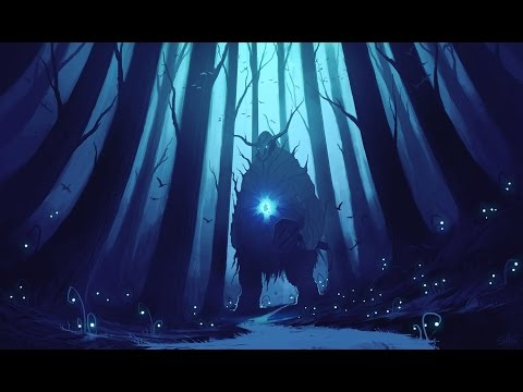 The Forest Spirit - Digital Painting (Livestream footage)