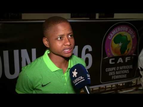 AWCON 2016  Sasol Banyana Banyana vs Cameroon
