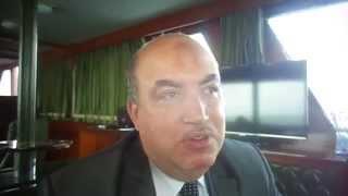 الشركة المصرية للدخان فى جولة بحرية بقناة السويس الجديدة 4أبريل 2015