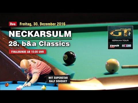 b&a Classics - Neckarsulm/Germany 2016 Finalrunde