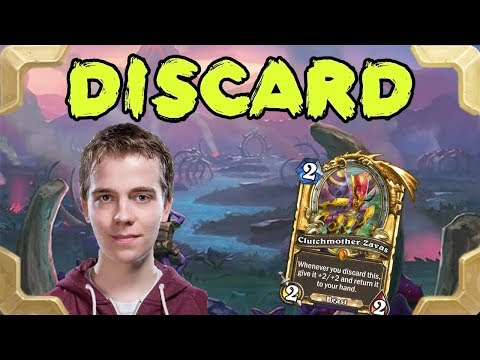 Thijs with a nice Discard warlock deck (Rastakhan's Rumble)