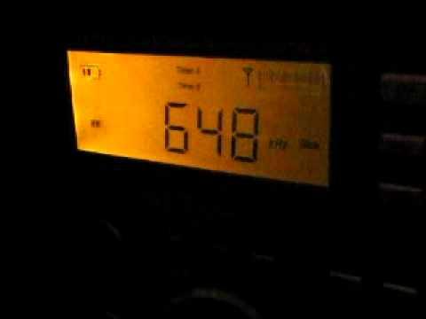 Good Bye BBC World Service on 648 kHz