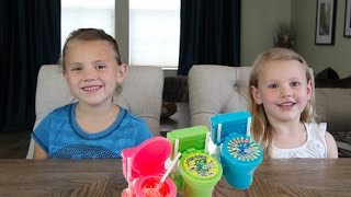 SOUR FLUSH TOILET BOWL CANDY - KID CANDY REVIEW - THE WEISS LIFE