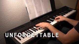 Unforgettable  Nico Santos  Piano Cover by MJMusic