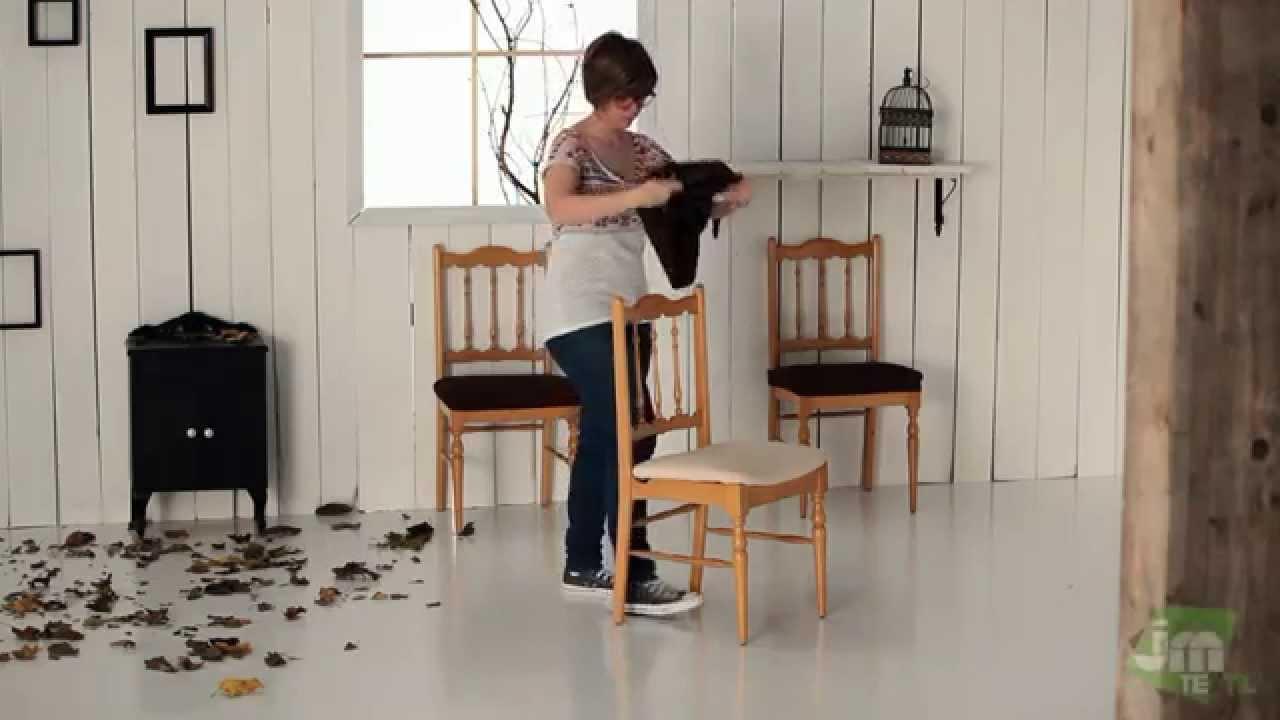Funda el stica para silla youtube - Fundas de sofa modernas ...