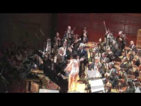 Yuja Wang plays an encore at Davies Hall in San Francisco