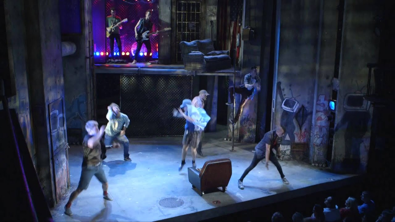 American Idiot The Musical - Arts Theatre London - YouTube