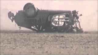Crash en voiture à 300 km/h