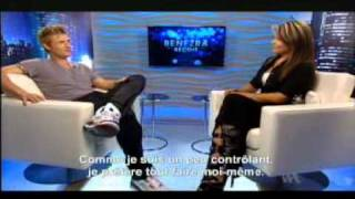 Sonia Benezra reçoit Nick Carter, 31 octobre 2011 (AVEC sous-titres) Part 1/5