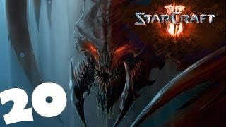StarCraft 2 Heart of the Swarm Campaign Walkthrough Part 20 Gameplay Review Lets Play HD Hard PC