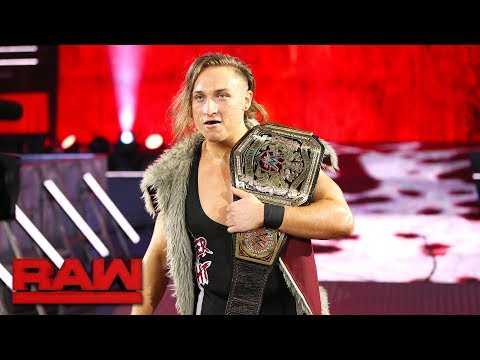 Thumbnail: Enzo Amore gets an unwelcome surprise from WWE U.K. Champion Pete Dunne: Raw, Nov. 6, 2017
