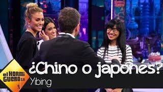 Yibing nos descubre cómo diferenciar a chinos y japonenes - El Hormiguero 3.0