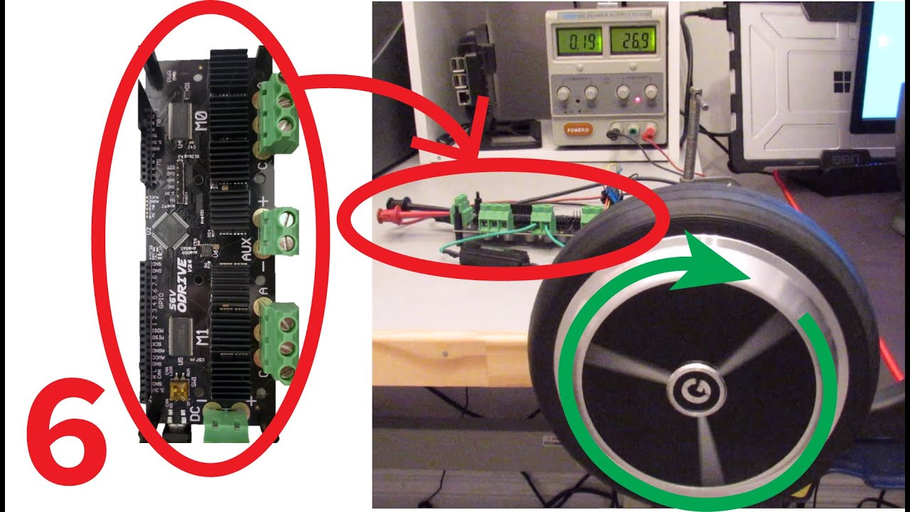 How to Use ODrive BLDC Motor Controller   RoboDog Software 1