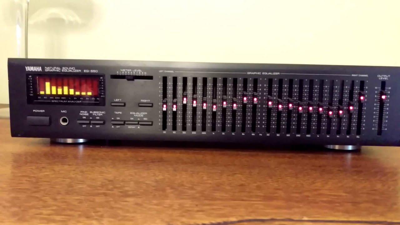 Yamaha EQ-550 - YouTube