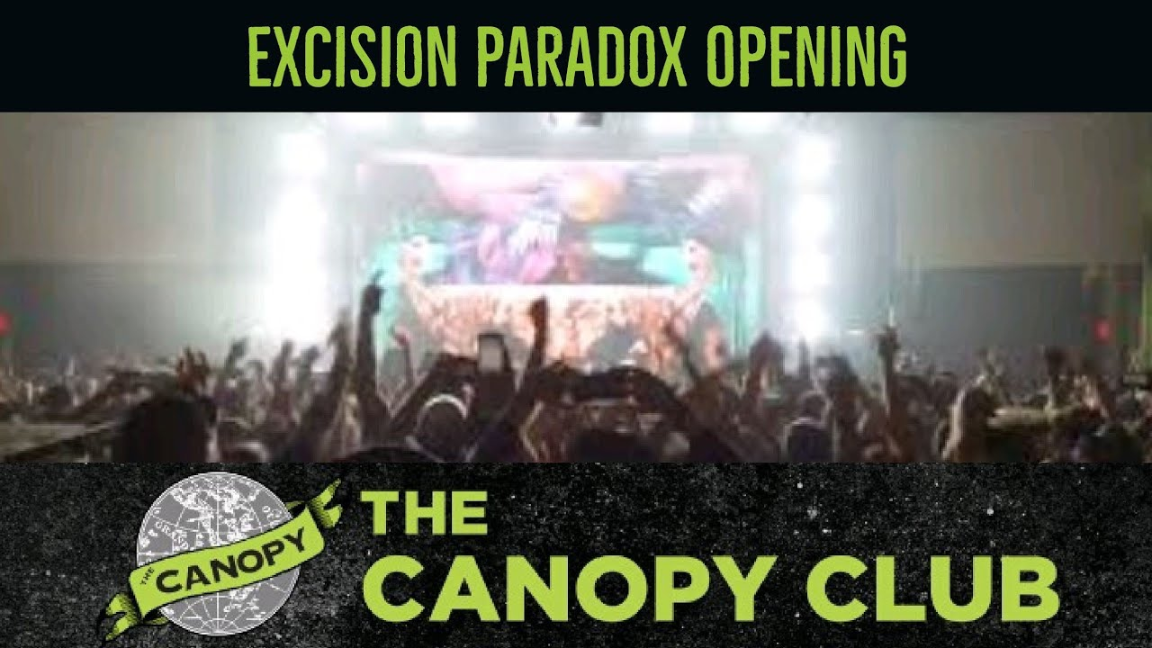 Excision Paradox Opening @ The Canopy Club 3/14/16 & Excision Paradox Opening @ The Canopy Club 3/14/16 - YouTube