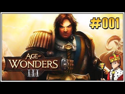 Age of Wonders 3 #001 - Elfen sind nicht zum knuddeln da [Deutsch] | Let's Play Age of Wonders 3
