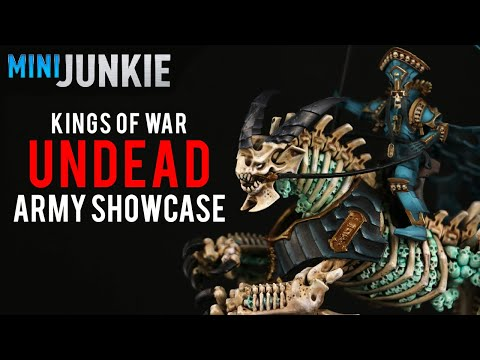 Undead Army Showcase - Kings of War Third Edition