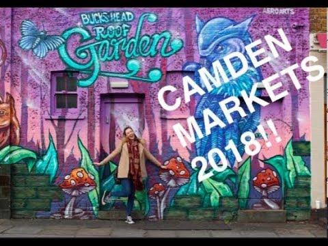 CAMDEN MARKETS LONDON 2018 VLOG!!