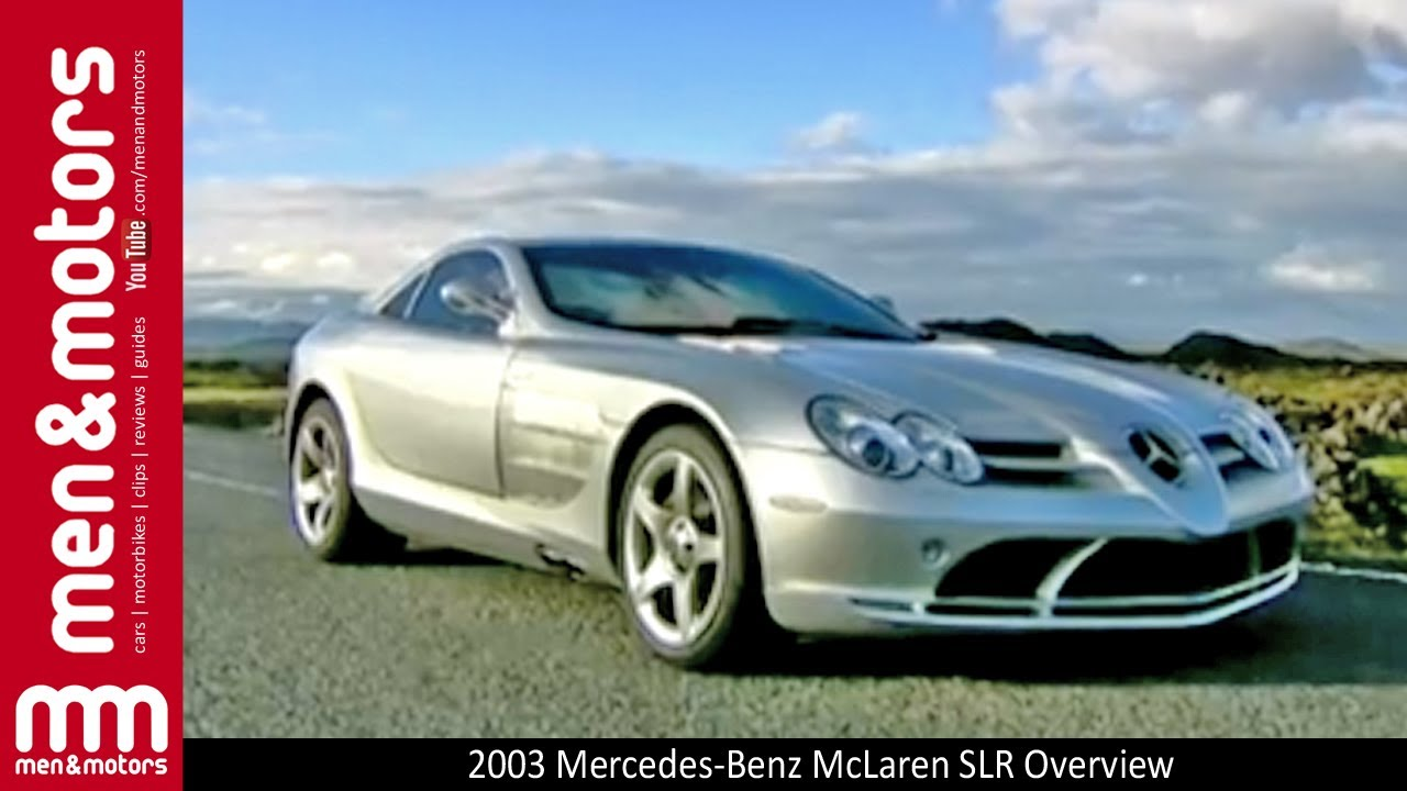 2003 Mercedes Benz Mclaren Slr Overview Youtube