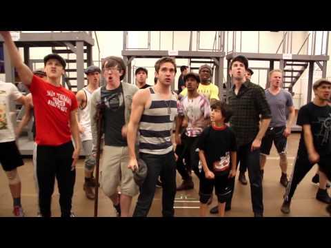 Newsies On Tour - Inside Rehearsal