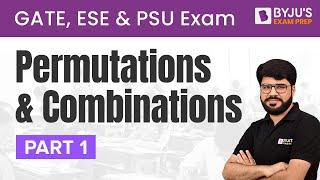 Permutations - Part 1   Permutations \u0026 Combinations   GATE /ESE/PSUs   Rakesh Talreja   Gradeup
