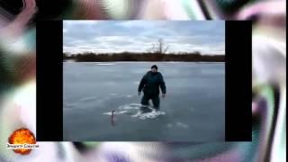 Смешное видео Приколы на рыбалке ВЫПУСК #22(Самые смешные курьезы, приколи, и глупости которые могут случится с людьми, животными ,смотрите на нашем..., 2015-04-16T20:57:06.000Z)