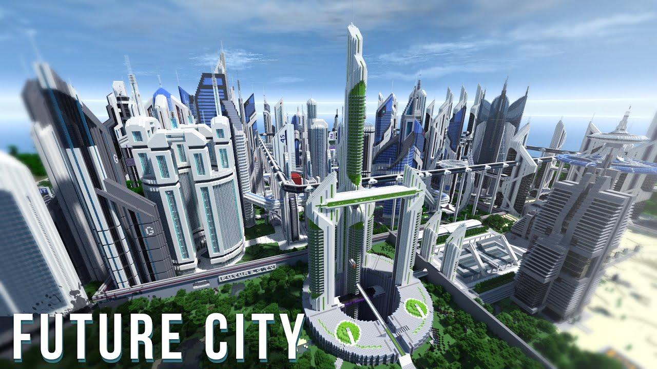 minecraft future city