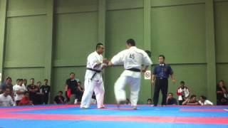 Senior Middle Weight Nyi Aung Win vs. Nishimura Hiroshi マレーシア...