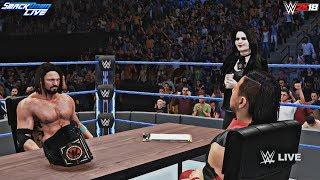 WWE 2K18 AJ Styles & Shinsuke Nakamura Contract Signing feat. Paige (SD Live 6/5/18 Custom Scenario)
