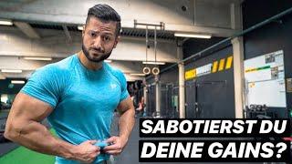 Bester Körperfettanteil für optimalen Muskelaufbau!