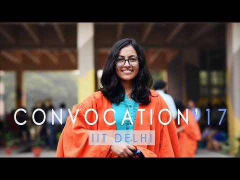 Convocation'17   IIT Delhi   Graduates On Convocation Day