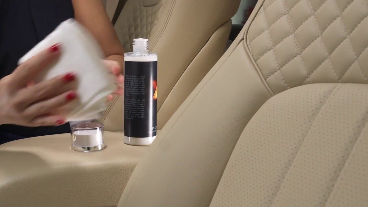 Leather Care Kit Cleaning Protection Youtube