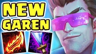 RIOT IS ACTUALLY INSANE!!! NEW GAREN REWORK | THE MOST BROKEN REWORK EVER SEEN | SOLO BARON