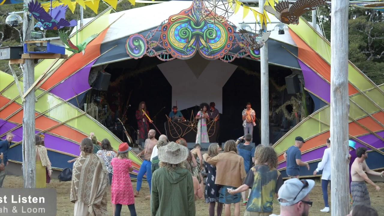 Luminate Festival  New Zealand presents Mantravine's music at Lunasa Stage