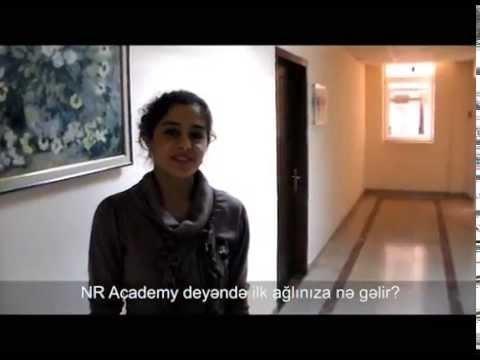 NR Academy 1 yaşın mübarək